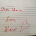 dear sharon love sharon
